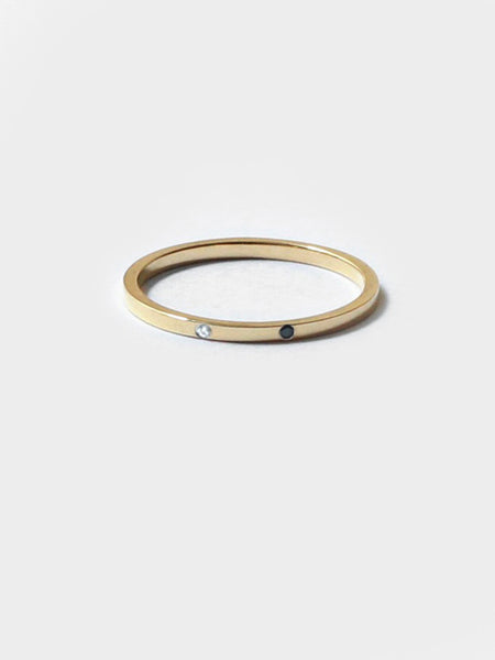 Sarala Ring Gold by Still House