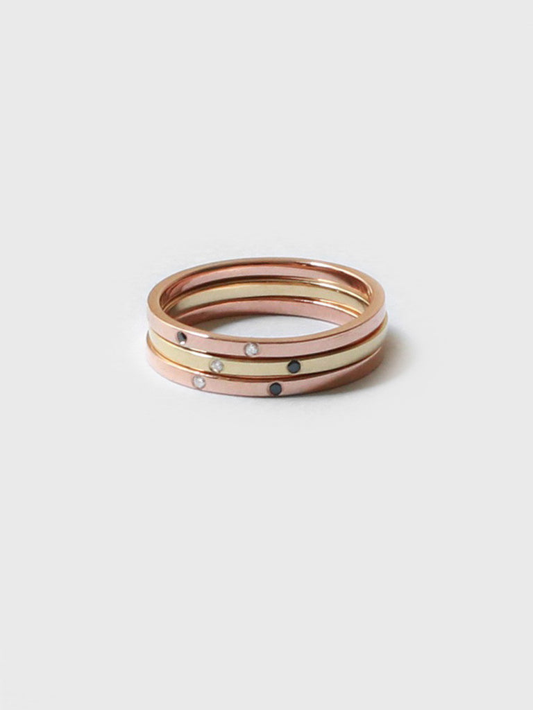 Special Order – Sarala Ring Rose Gold + Engraving by Still House