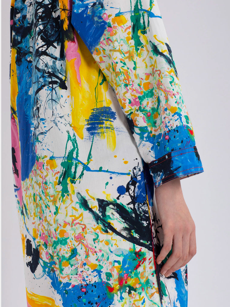 Ina Printed Shirt Dress by Sies Marjan