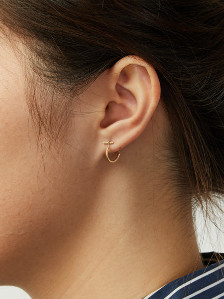 Mini Turi Earring Gold by Still House