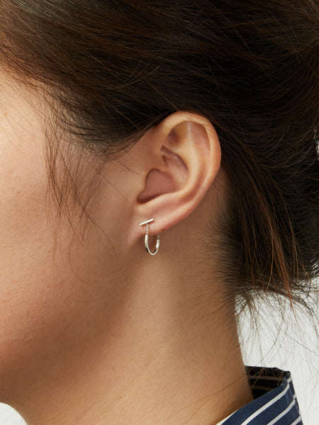 Mini Turi Earring Silver by Still House