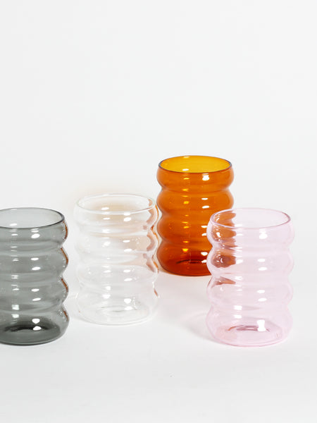 Ripple Cup - Clear by Sophie Lou Jacobsen