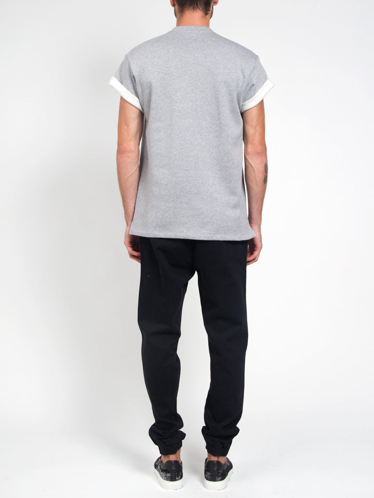 Fleece Tee Grey by Fanmail