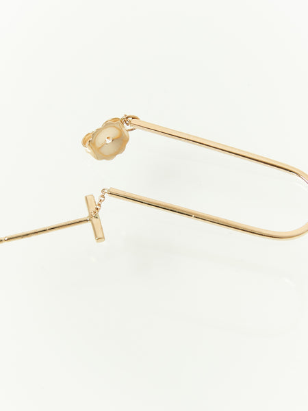 Long Turi Earring with Diamonds by Still House