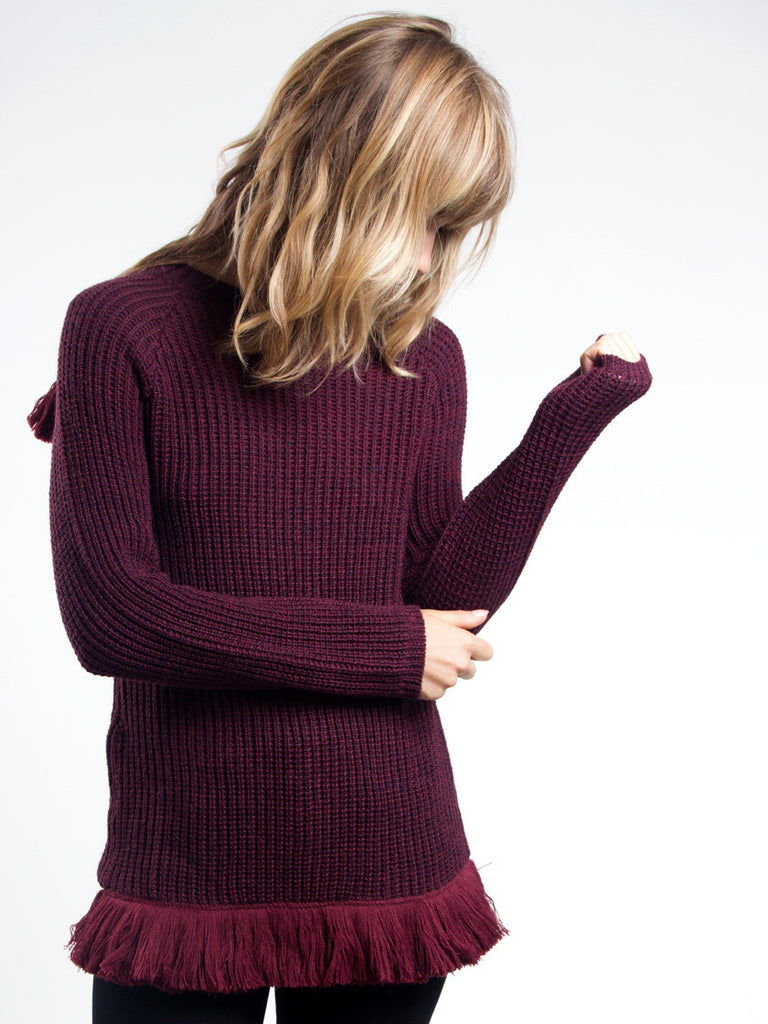 Stone Knit Sweater by Delfina Balda