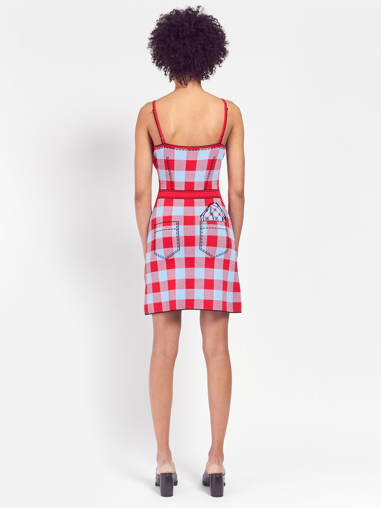 Secret Agenda Slip Dress by Adam Selman