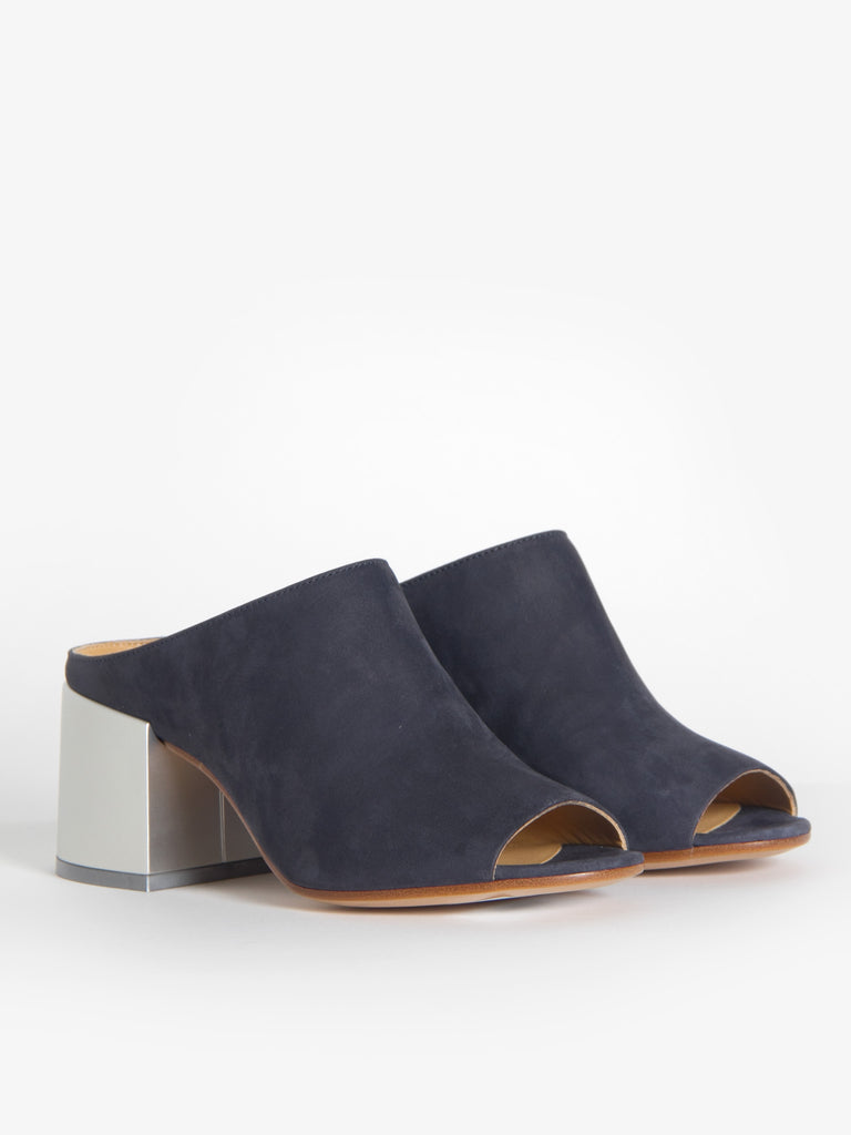 Nubuck Washed Mule by MM6 Maison Margiela