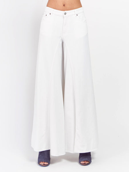 Wide Leg Jean by MM6 Maison Margiela