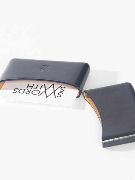 Brev Card Holder Navy by Vere Verto