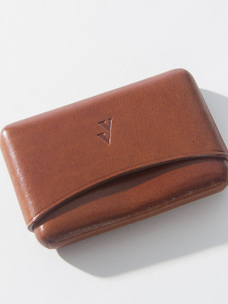 Brev Card Holder Brown by Vere Verto