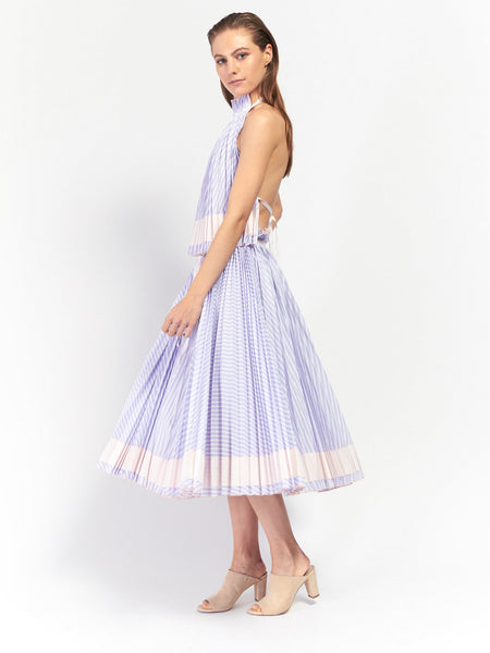 Adam Selman - Spring Affair Pleated Skirt by Adam Selman