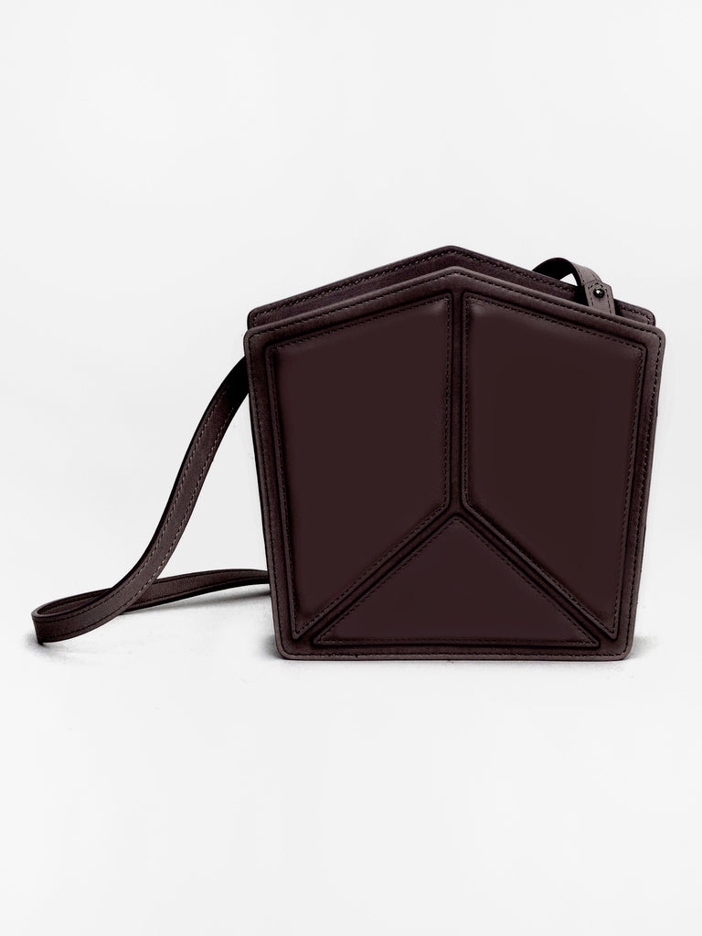 Pentatonic Bag Burgundy by Imago-A