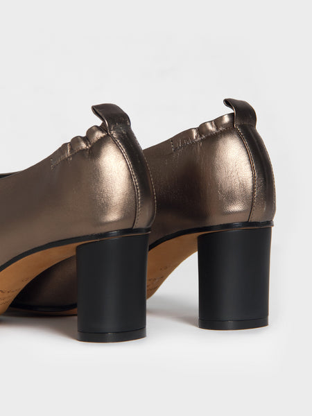 Micol Pump - Bronzo by Gray Matters