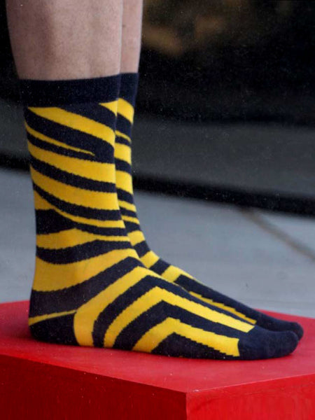 Ray Socks Yellow by Henrik Vibskov