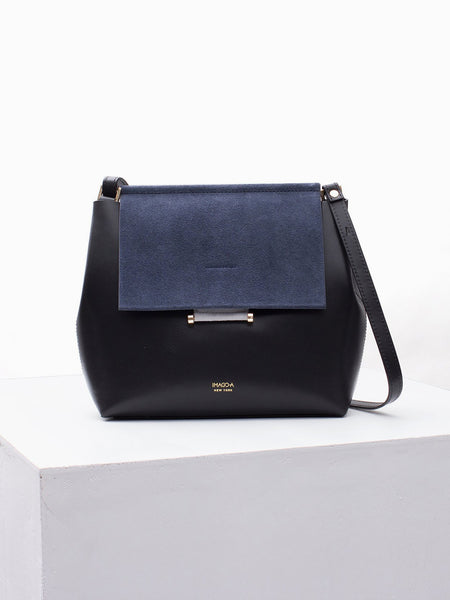 Carre Shoulder Bag Midnight by Imago-A