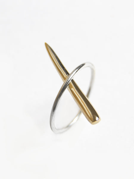 Tuck Needle Ring by Tamlin