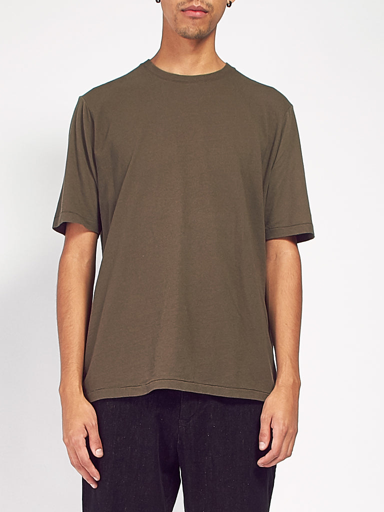Contrast Sleeve Tee by Folk
