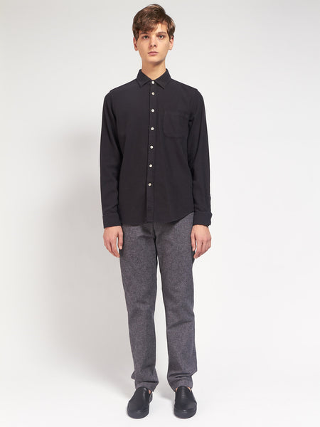 Teca Shirt Black by Portuguese Flannel