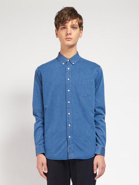 Leisure Indigo Shirt by Schnayderman's