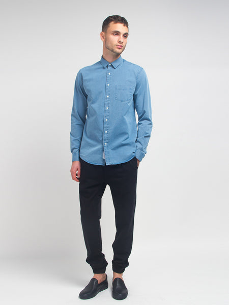 Leisure Denim Shirt by Schnayderman's
