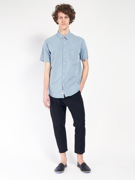 Leisure Indigo Jeans Shirt by Schnaydermans