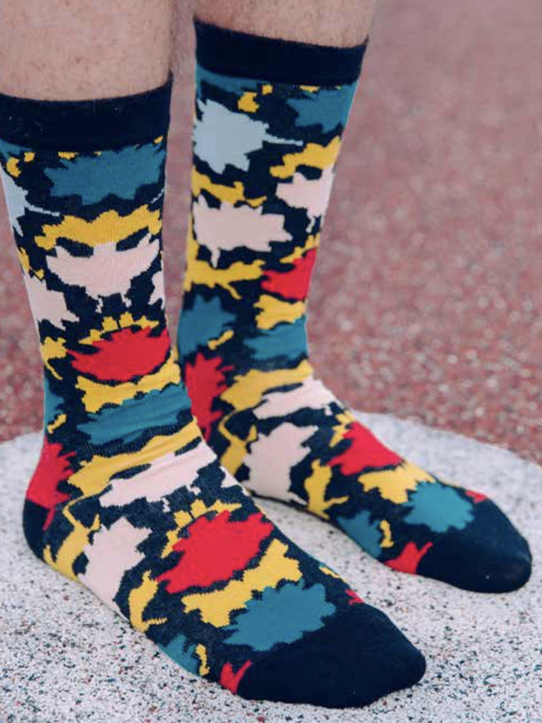 Africa Cloud Socks by Henrik Vibskov