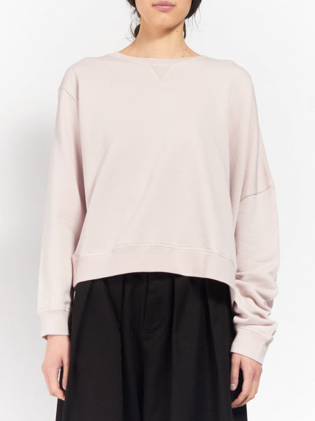 MM6 - Asymmetrical Sweatshirt Ballerina by MM6 Maison Margiela