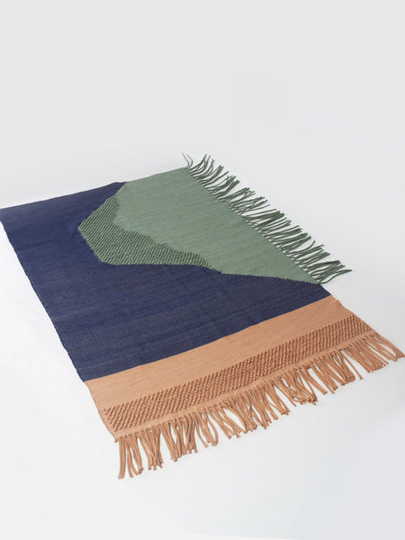 Island Rug Green by Reality Studio