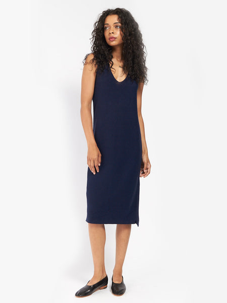 Knit V-Neck Dress by Ali Golden