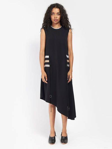 Multi Pull Dress Black by CF Goldman