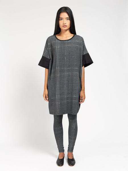Gridlines Dress by Kowtow