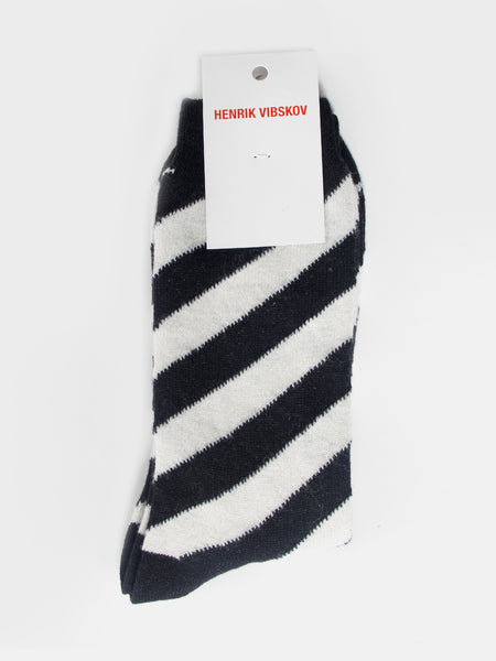 Stripe Brush Socks by Henrik Vibskov