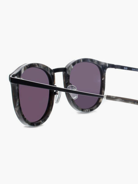 Shout Sunglasses Black Scales by Smoke x Mirrors