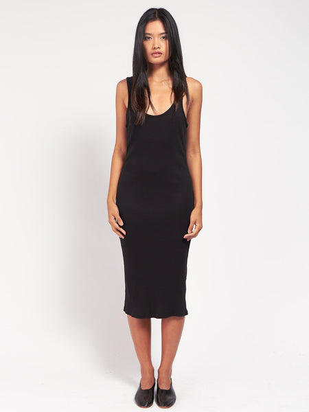 Meredith Tank Dress Black by Skin