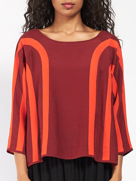 Gordon Blouse Red by Henrik Vibskov