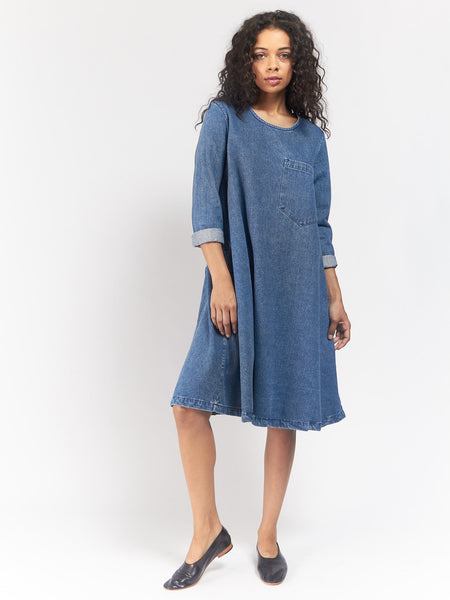 Longsleeve Basic Dress by 69