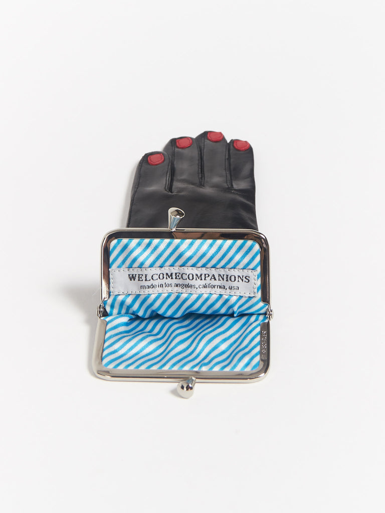 Glove Coin Purse Black by Welcome Companions