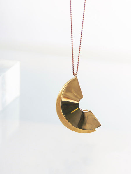 Lygia Pendant Necklace by Metalepsis Projects