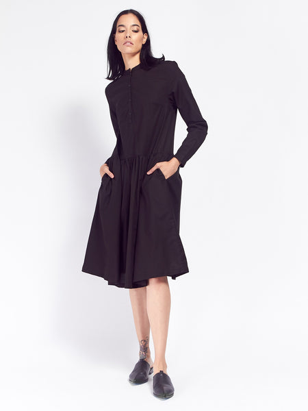 Foundation Dress - Black by Kowtow