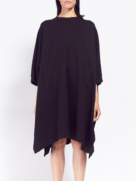Building Block Cape - Black by Kowtow