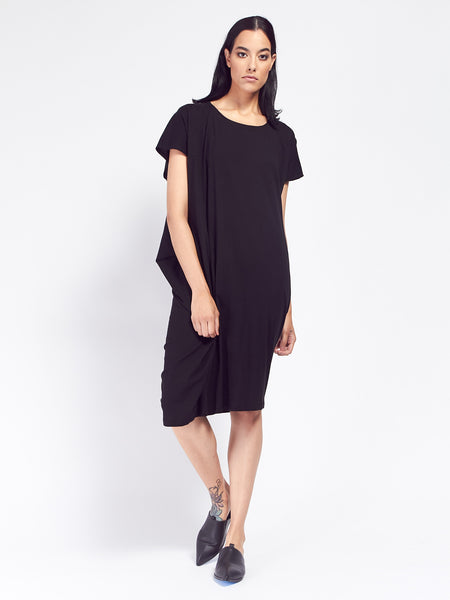 Building Block Drape Dress by Kowtow