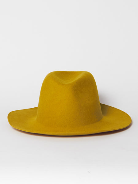 Uniform Hat - Mustard by Reinhard Plank
