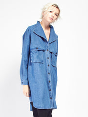 Safari Dress -  Denim