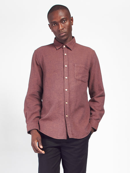 Teca Shirt - Brick by Portuguese Flannel