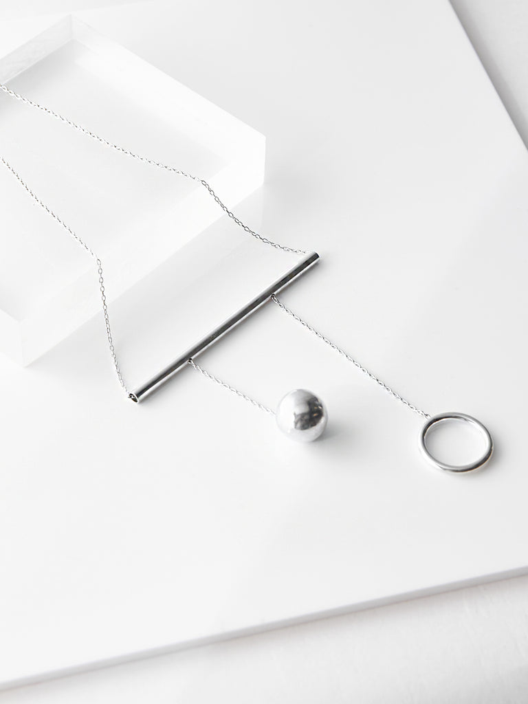 Balance Bar Necklace by Ladies and Gentlemen Studio