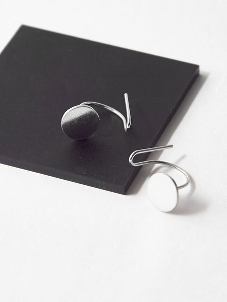 Disc Ear Climbers by Ladies and Gentlemen Studio