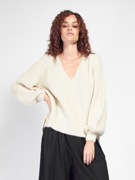 Kayla Vee Sweater by Eleven Six