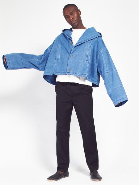 Cropped Big Boy Jacket by 69