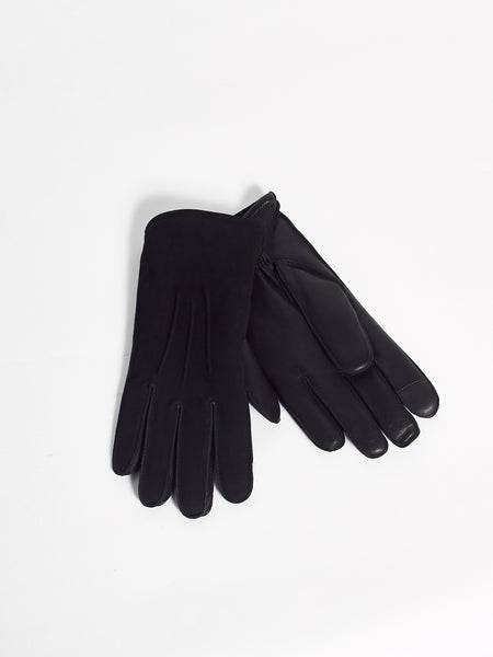 Rand Pin Leather Glove - Black by Journal