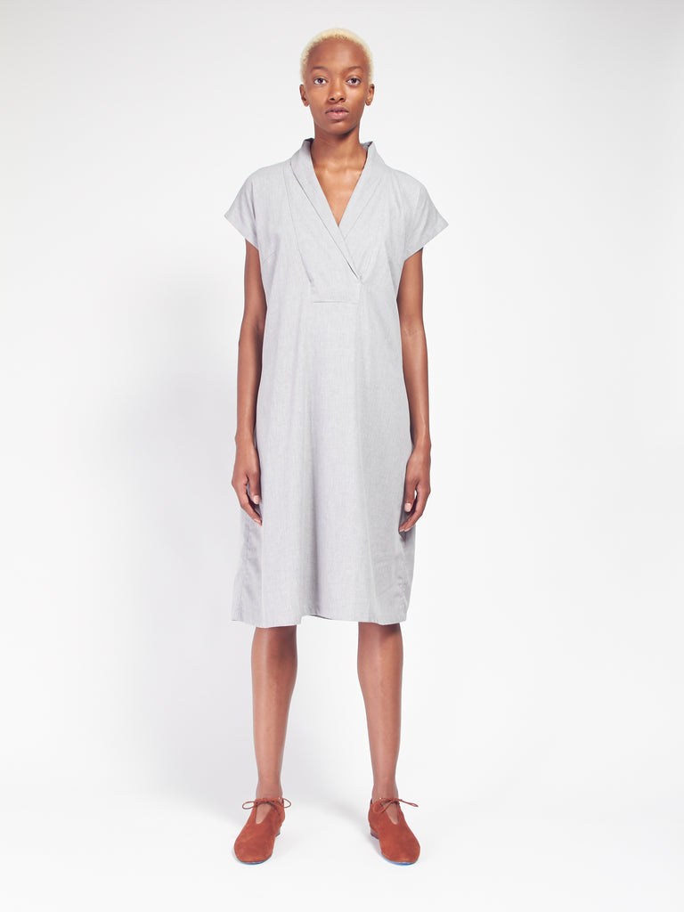 Hunter Dress - Grey Melange by Kowtow